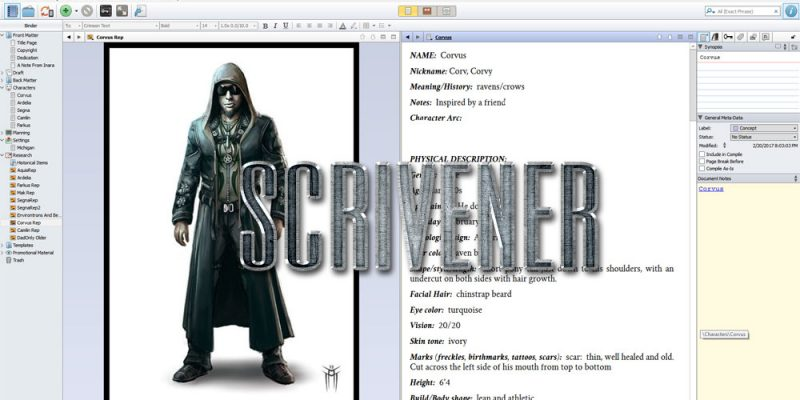 Scrivener Featured Image